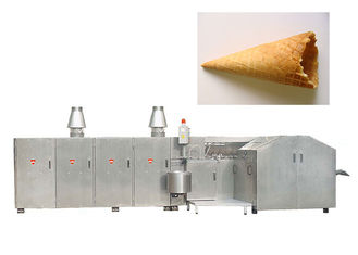 Good Quality Sugar Cone Production Line & Flexible Ice Cream Manufacturing Equipment For Sugar Cone / Waffle Basket on sale