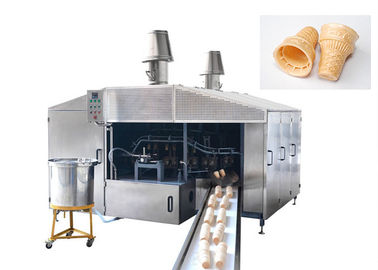 Good Quality Sugar Cone Production Line & Eco Friendly Industrial Waffle Maker 380V / Ice Cream Cone Maker 4-5 LPG Consumption/Hour on sale
