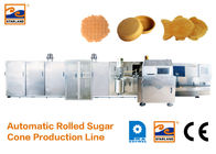 Eco - Friendly Ice Cream Cone Production Line High Speed 400 Standard Cones / Hour