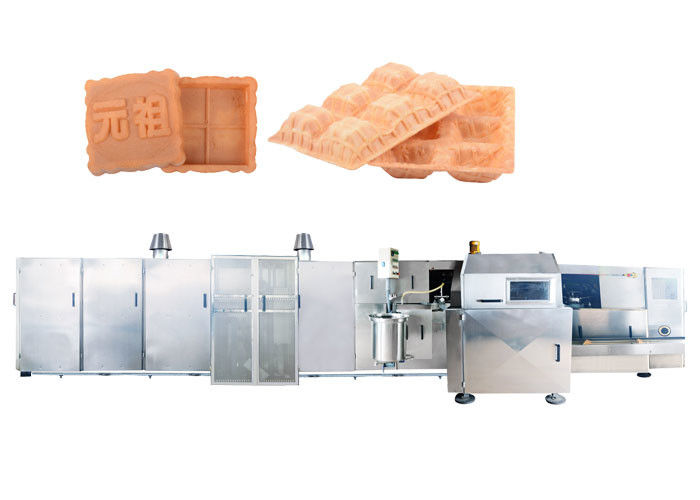 Automatically Oven Ice Cream Cone Production Line 6000 PCS / Hour , Gas Power