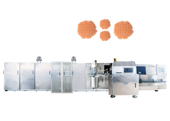 High Capacity Sugar Cone Baking Machine With Durable Baking Plates