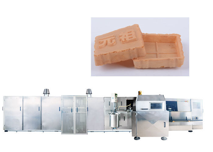 63 Baking Plates Automatic Sugar Cone Production Line With Touch Screen Display Eco - Friendly