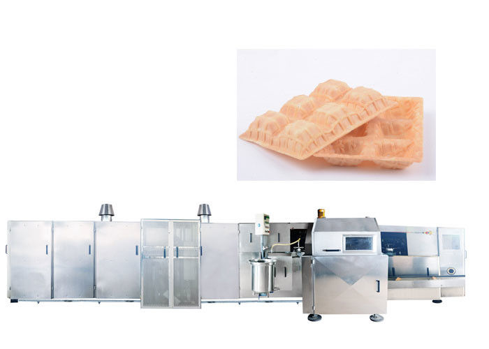 Nozzle Design Automatic Sugar Cone Production Line With 6000 Standard Cones / Hour