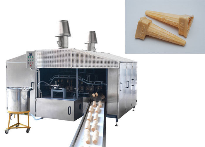 Hygienic Wafer Cone Production Line With Less Gas Consumption Fully Automatic