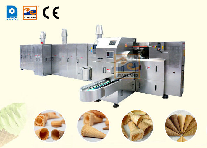 High Efficiency  Sugar Cone Making Machine Controlled By PLC 1.5hp 1.1kw