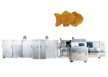 380V Automatical Waffle Cone Production Line Without Timing Device , Gas System