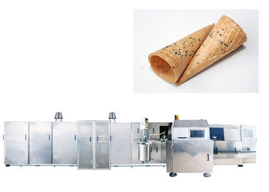 CE Ice Cream Cone Production Line , Sugar Cone Baking Machine 10 - 11 Gas Consumption / Hour