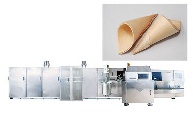 Durable Commercial Ice Cream Cone Machine With Cast Iron Baking Plates , 1 Year Warranty