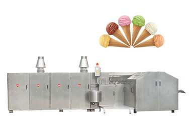 CE Pulp Egg Roll Production Line / Ice Cream Cone Machine 6700L * 2400W * 1800H