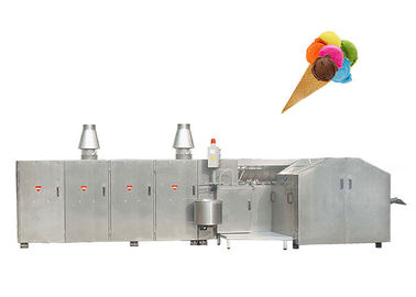 Fully Automatic Ice Cream Cone Making Machine 6700L * 2400W * 1800H