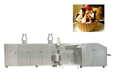 Stainless Steel Waffle Basbet Production Line 400 Standard Cone , CE Certified