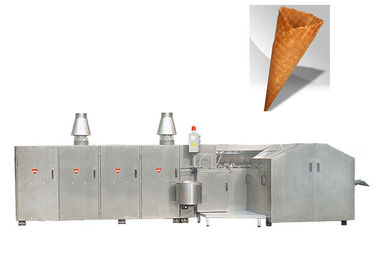 Ejection System Waffle Cone Production Line With 47 Baking Plates Nozzle Type