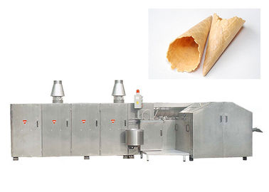 China Auto  Egg Roll Production Line With Double Door , 4500 Standard Cones / Hour factory