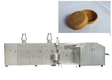 High Speed Waffle Cone Production Line With Touch Screen Panel , 1 Year Warranty