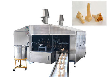 0.75kw Commercial Wafer Cone Production Line 3500L x 3000W x 2200H Customized
