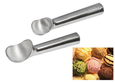 Antifreeze Heated Ice Cream Scoop Stainless Steel For Dinner / Restaurant