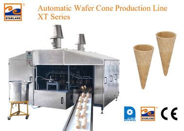 Motor Drived Wafer Cone Production Line Produce High Standard Products