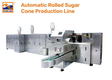 Stainless Steel Sugar Cone Production Line CB Series 380V 1.5hp 1.1kw