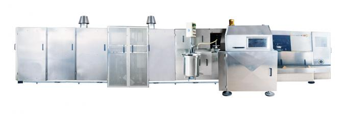 Stainless Steel Ice Cream Cone Production Line High Speed Working 380V