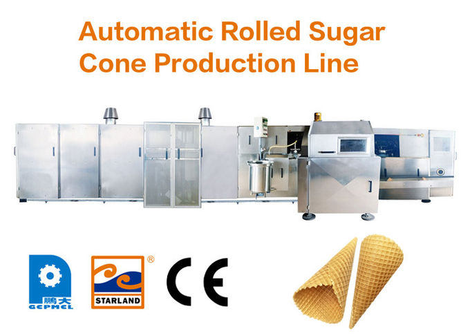 High Stability Automatic Cone Production Line Continuous Operation Over 10000pcs Per Hour