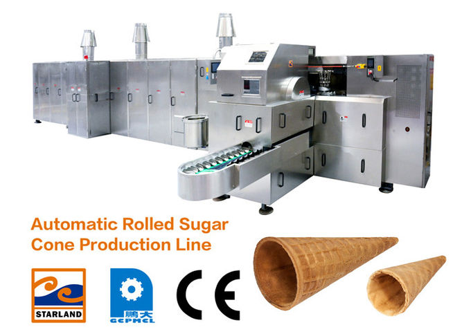 Efficient ice cream cone automatic production equipment ice cream cone shell machine
